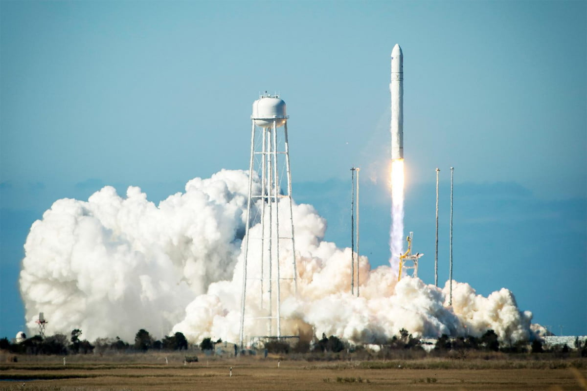 boldly go social media fan gone post selflies antares rocket launches