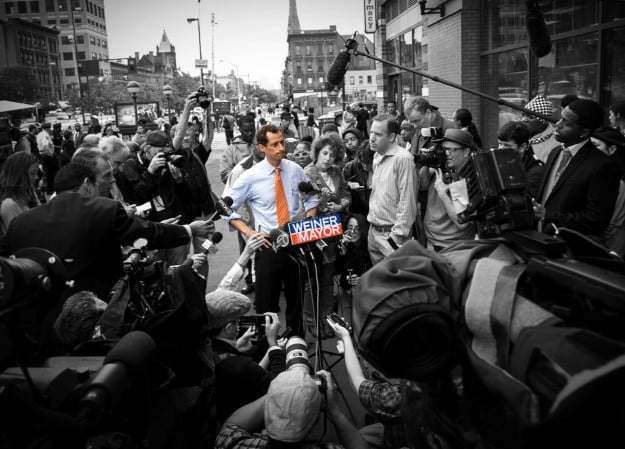 Anthony Weiner online politics