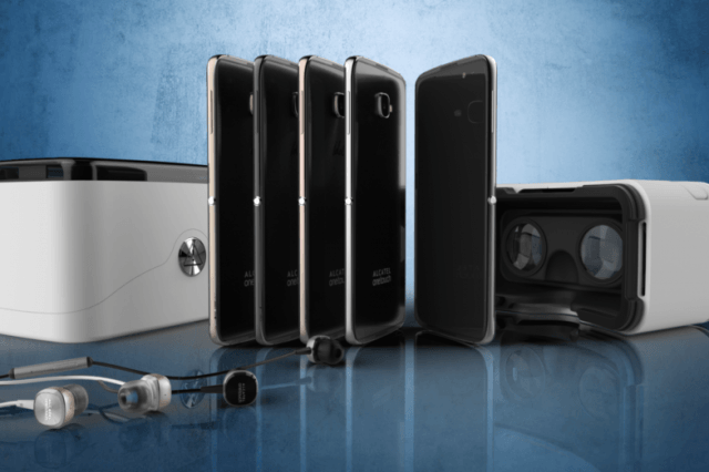 the latest alcatel smartphone will ship in a virtual reality headset aot  x