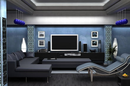 Apartment-home-theater