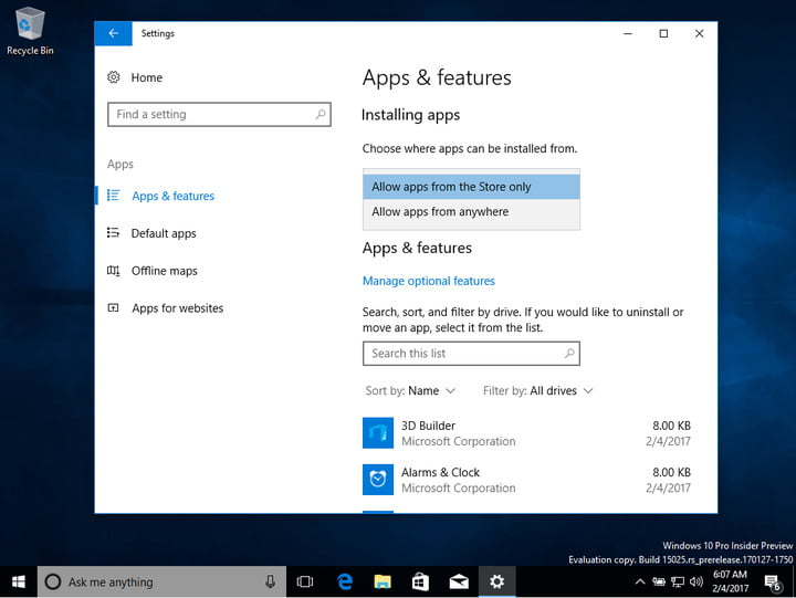 Windows 10 Cloud First Impressions: You Can Install Your Own ...