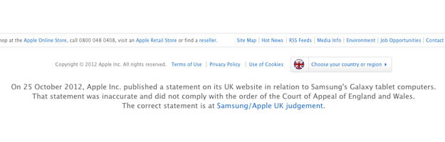 Apple Apology Statement