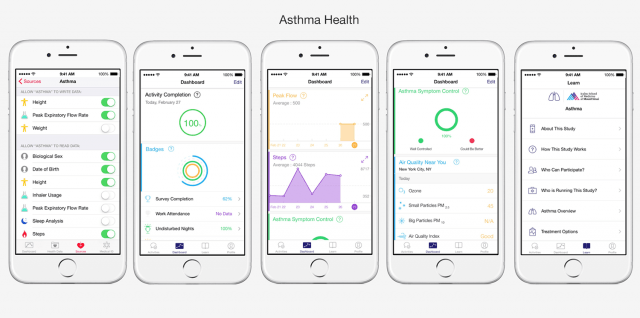 Apple Asthma Health app