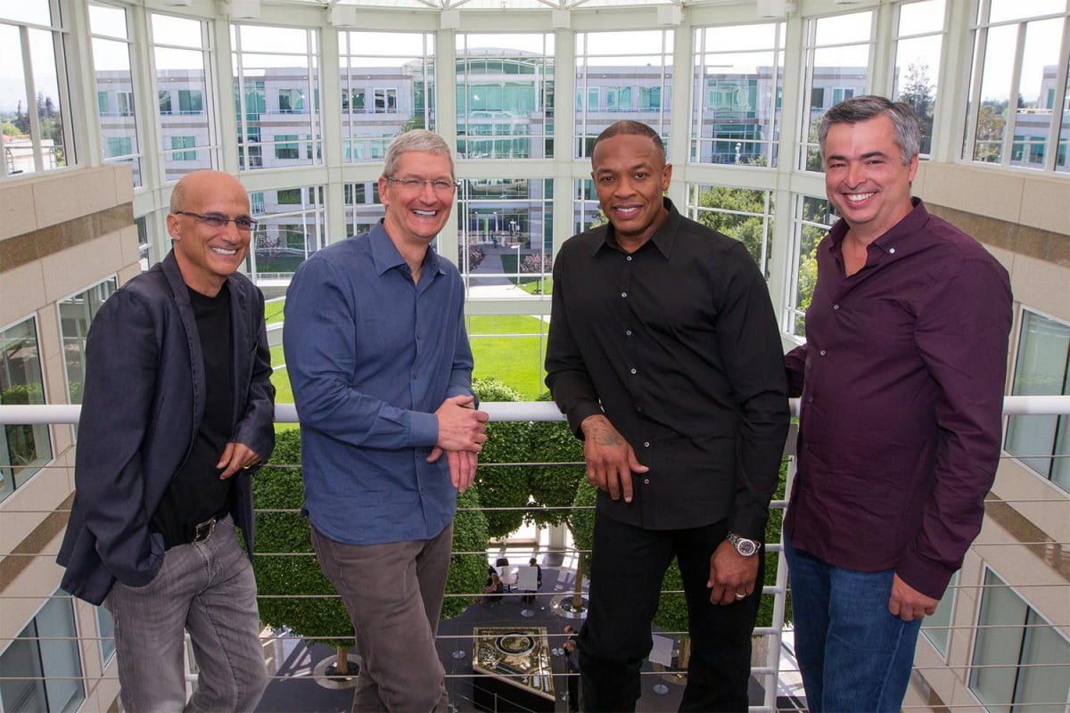 apple acquires beats  billion buys official dr dre tim cook