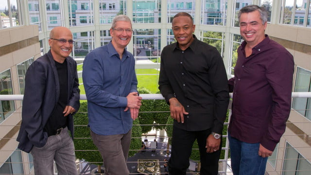 apples bid beats approved eu apple buys official dr dre tim cook