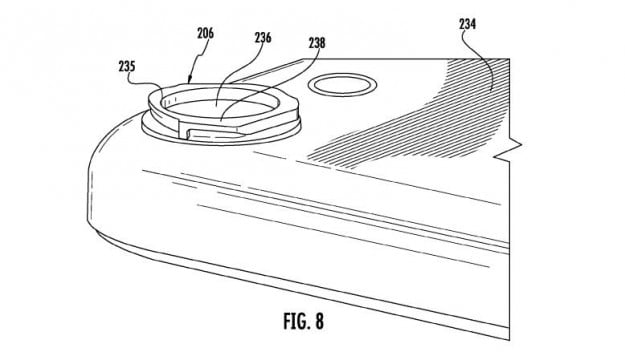 apple camera lens patent