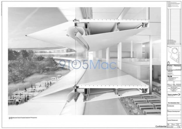 apple campus 2 cross section