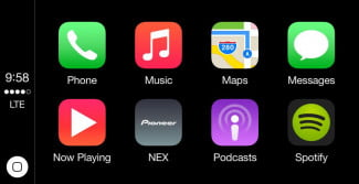 Apple CarPlay screenshot 2