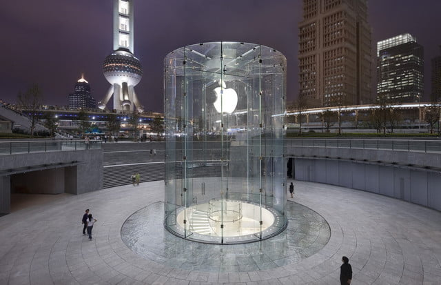 apple suffers china setback as authorities block itunes movie and book sales store pudong