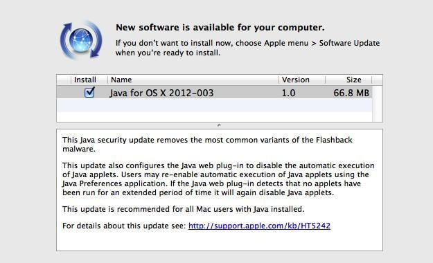 Apple Flashback Removal Official