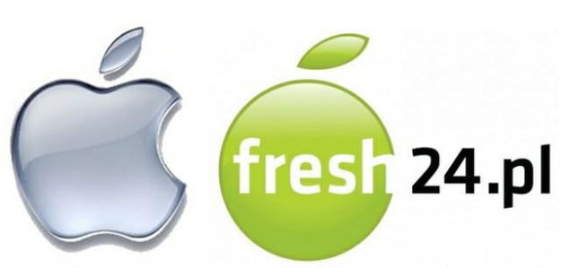 Apple and Fresh24 logos