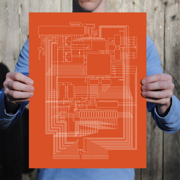 Apple I_Schematic Prints from City Prints