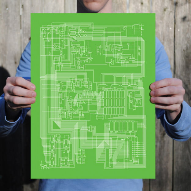 Apple II_Schematic Prints fr