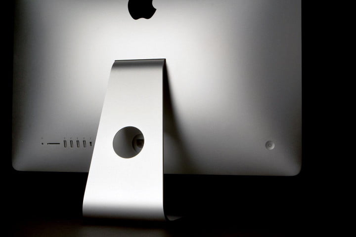 apple imac  review back ports