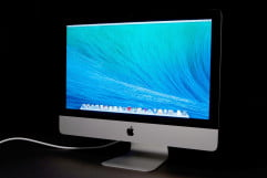 apple imac  review front angle