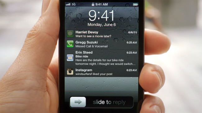 Apple iOS 5 Notifications