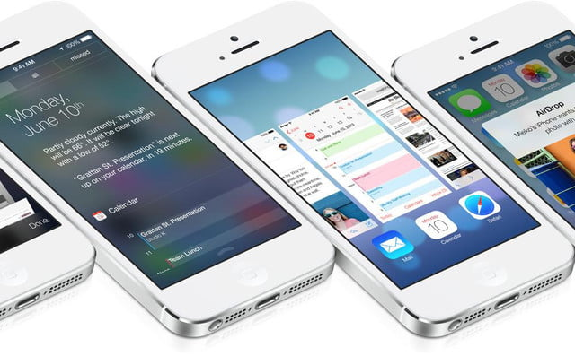 apple releases ios  screens