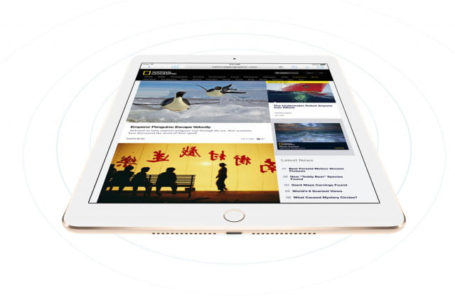 apple ipad sim card switches lte network air  wireless press image
