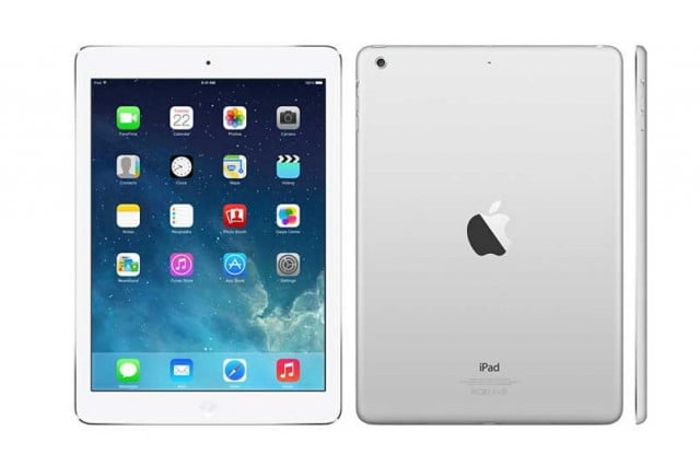 ipad air goes on sale apple silver