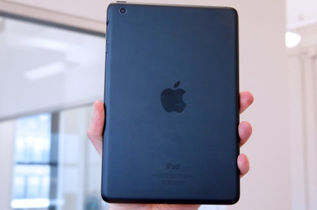 Apple iPad Mini review back iOS tablet