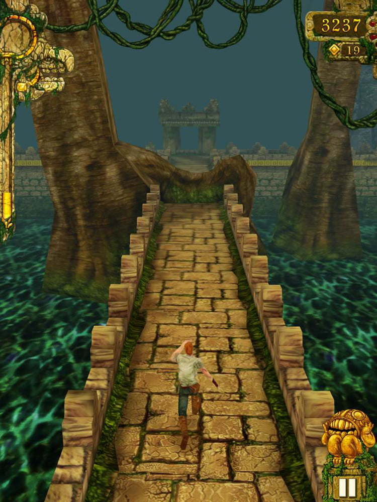 Apple iPad Mini review screenshot temple run iOS tablet