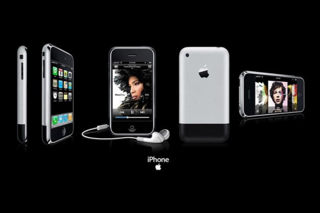 One of Apple's iPhone 2G advertisement