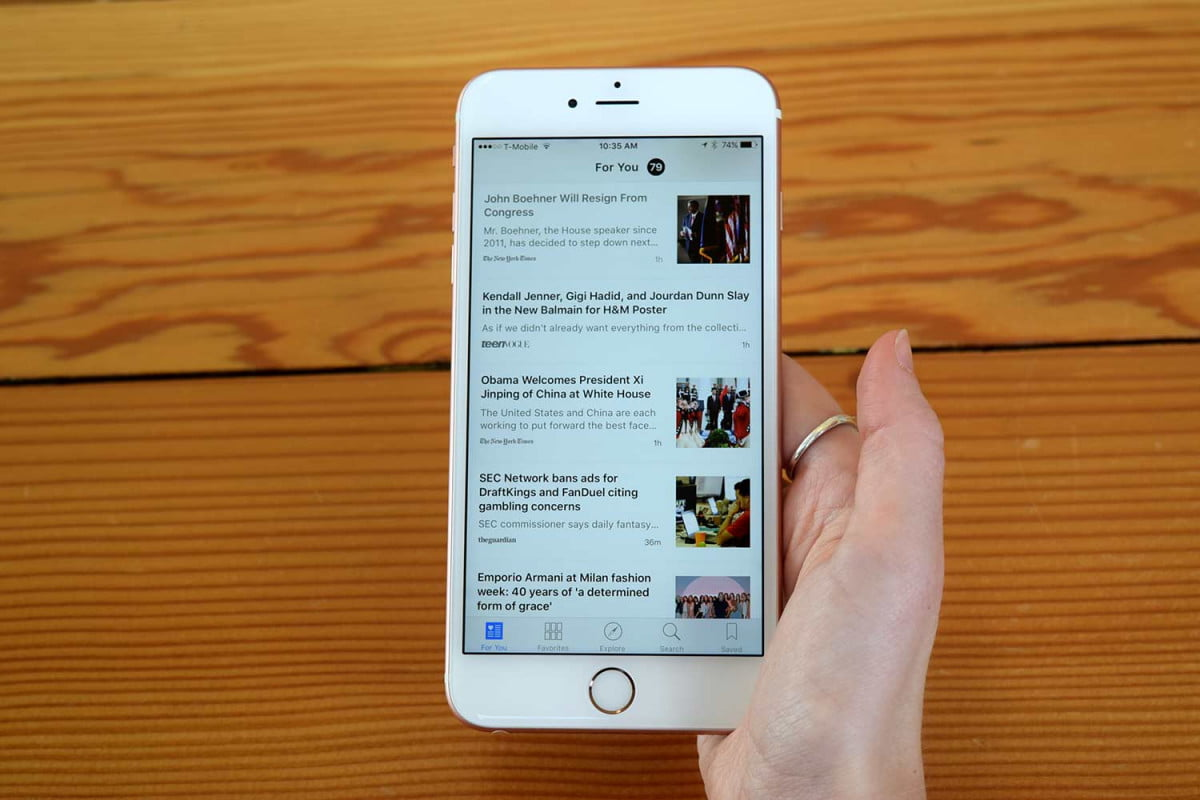 ads resembling articles coming to apple news iphone  d touch