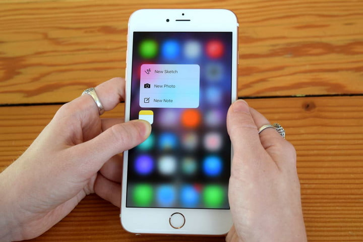 d touch tips apple iphone