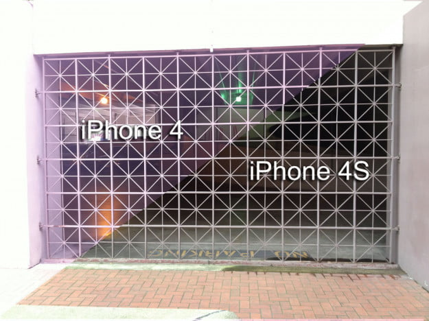 apple-iphone-4s-parking-garage-grate