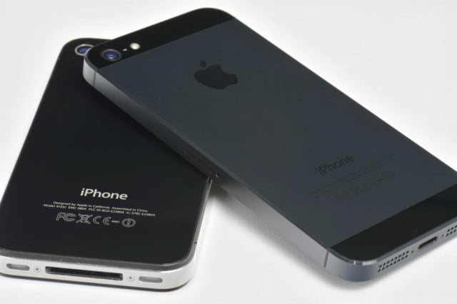 apple iphone 5 review: comparison to iphone 4