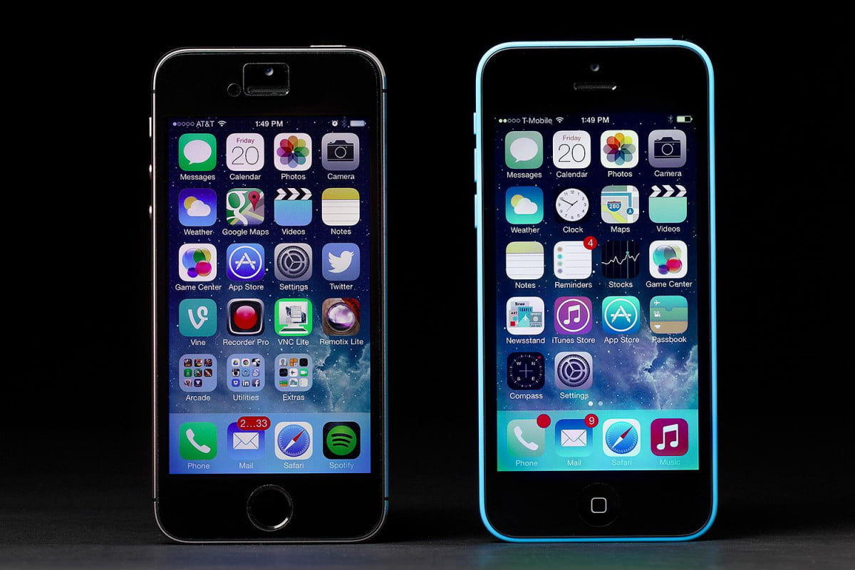 how to set up a new iphone apple  c vs s screens
