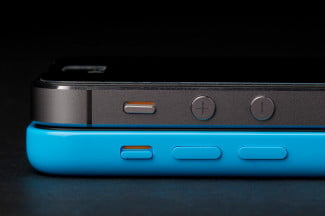 apple iphone 5c vs 5s side buttons