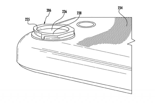 new apple patent hits at dslr style mounting system for lenses on iphones ipads iphone bayonet