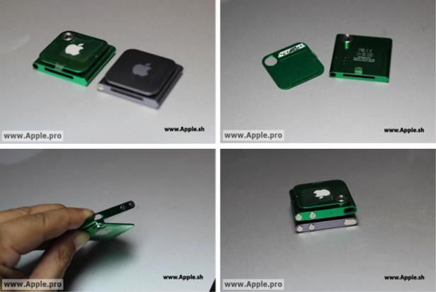 Apple iPod Nano Camera Prototype