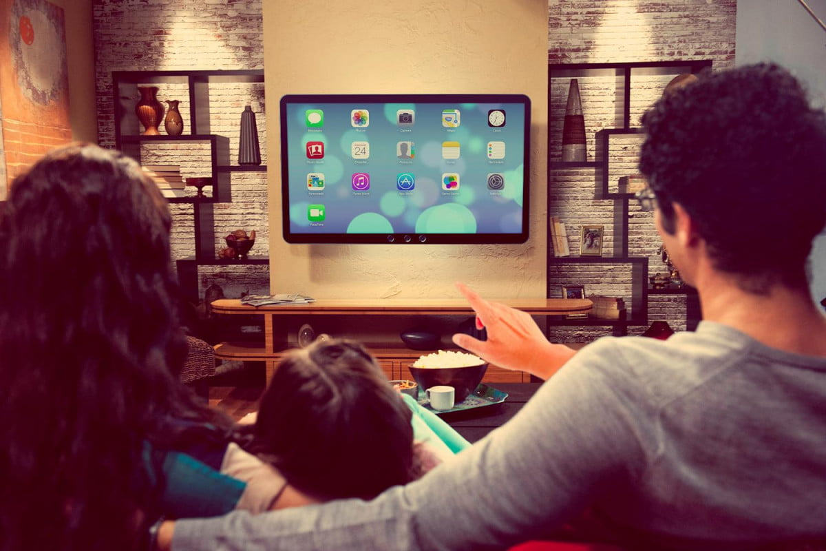apple tv is going to be a giant gesture controlled ipad itv control