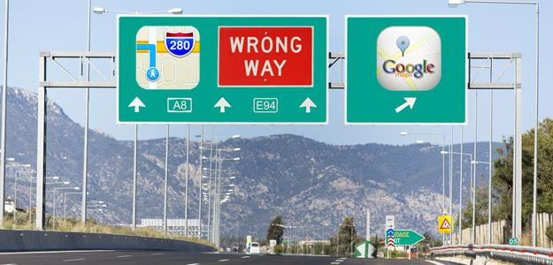 apple maps fallout header google