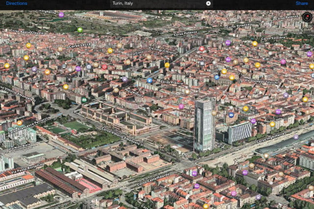 apple boosts maps with  new flyover locations from around the world
