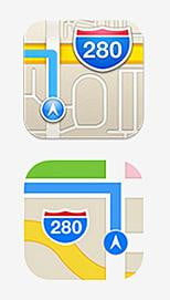 Apple Maps Icons