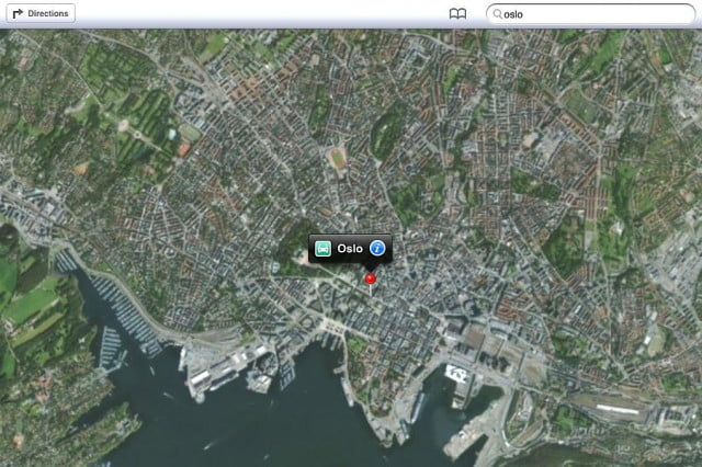 norway blocks apple from gathering  d flyover imagery maps oslo