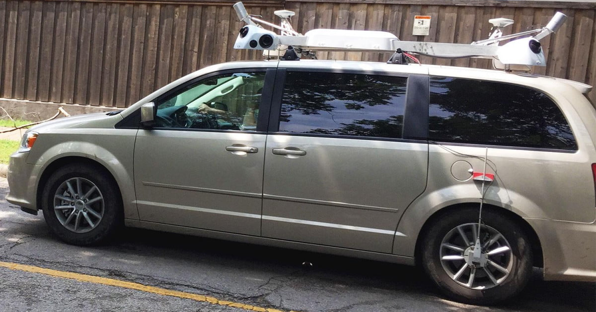 Apple Maps Cars Capturing Street View-Style Images ...