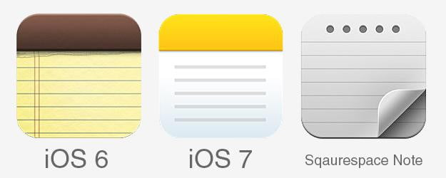 Apple Notes Icons