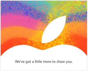 Apple October 23 invite