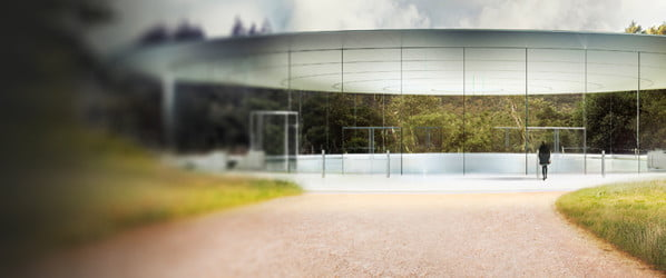 Steve Jobs' spaceship-like 'Apple Park' is finally finished, and it opens in April