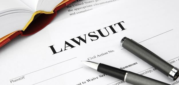 lawsuit papers patent law