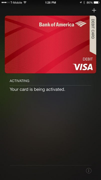 apple pay hands on screenshot activation
