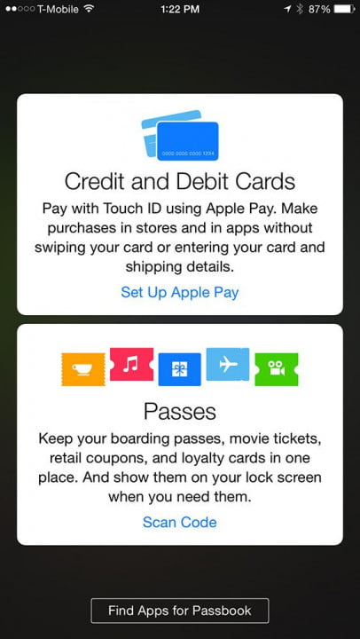 apple pay hands on screenshot cards