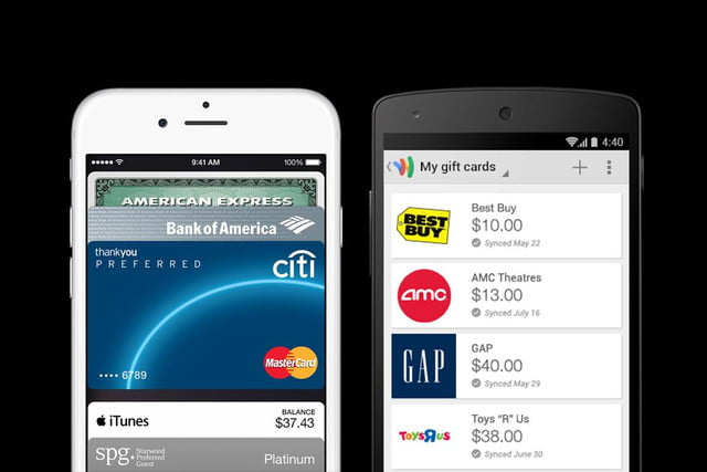 google wallet use boosted by apple pay vs