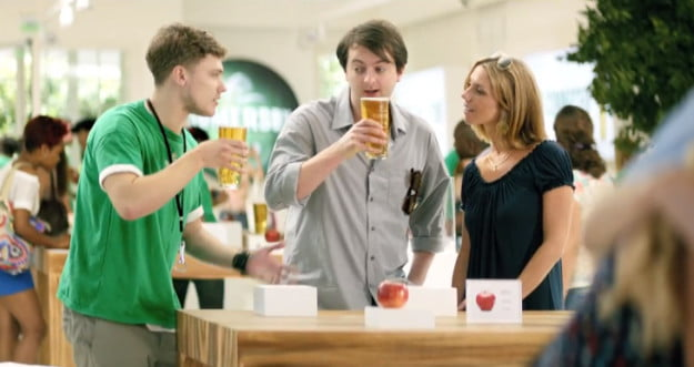 apple somersby ad