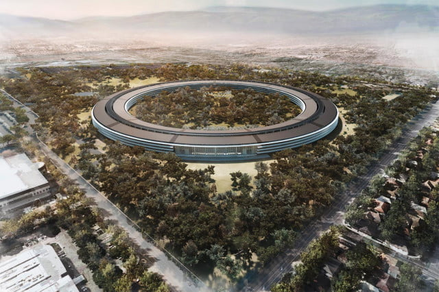 apple spaceship campus contractor fired