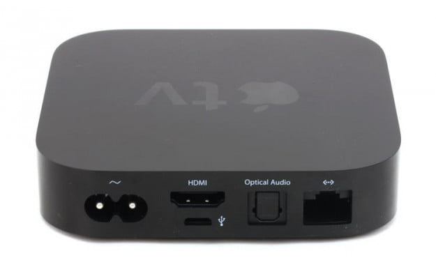 Apple TV 2012 review rear ports
